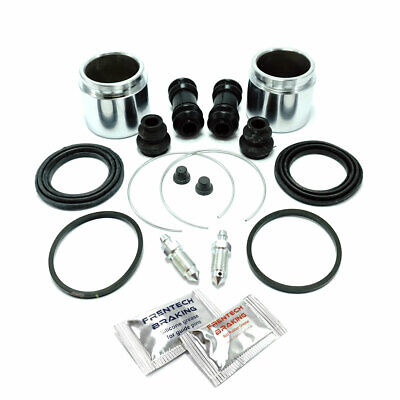 2x Rear caliper repair kits & pistons For: Nissan Patrol Y60 (1991-1997) PK508-2