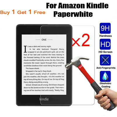 """2PCS Tempered Glass Screen Protector For For Amazon Kindle Paperwhite Voyage 6"""""""
