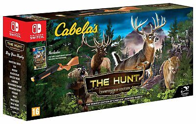 Cabela's: The Hunt Championship Edition Nintendo Switch Game 16+ Years