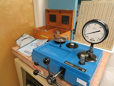 Super Barnet Series 9000 Pressure Measurements - Dead Weight Tester 10-5000 PSI