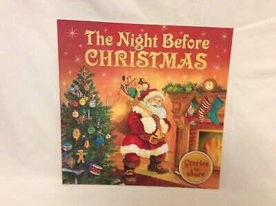 Christmas Childrens Kids Book The Night Before Christmas Stocking Filler New