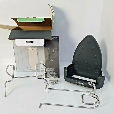 Brabantia Ironing Board Hanger and Iron Store - Black (t2)