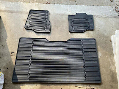 2015 2017 Ford F 150 Oem All Weather Floor Mats 64 99