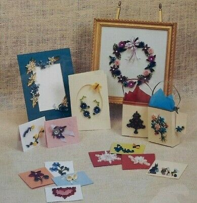 1990s Quilling  Starter Kit For Beginners Paper Filigree Paper Craft 6220F