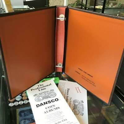 """Brand New! DANSCO Supreme Coin Album Blank Empty Binder 1 1/4"""" Fits 7-8 Pages"""