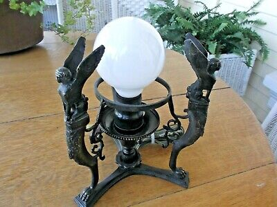 Egyptian Revival Table Lamp