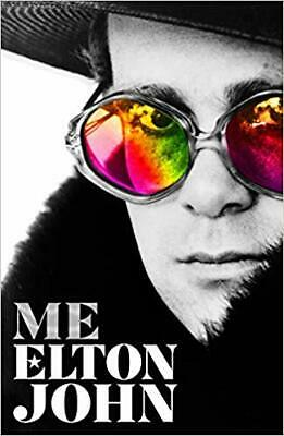 Me: Elton John Official Autobiography Hardcover NEW 2019 by Elton John