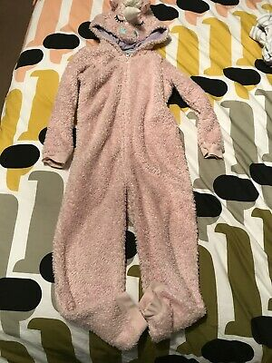 Marks And Spencer Unicorn All In One Sleep suit  Pyjamas 5-6 Yrs