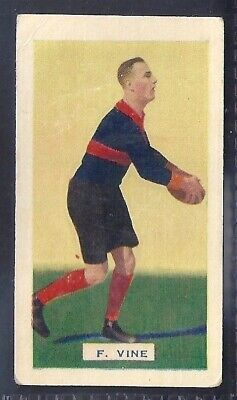 Hoadleys-Victorian Football Ers (Action)-Aussie Rules-#010- Melbourne - Vine