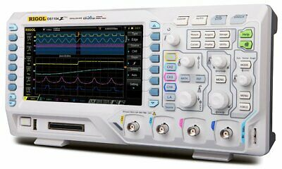 Rigol DS1104Z Plus 100 MHz Digital Oscilloscope with 4 Channels
