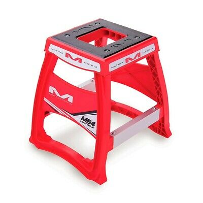 Matrix M64 Elite MX Motocross Enduro Bike Stand - Red