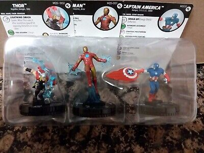Marval HeroClix What If W// Card Common x3 002 Iron Man NM 15th x3