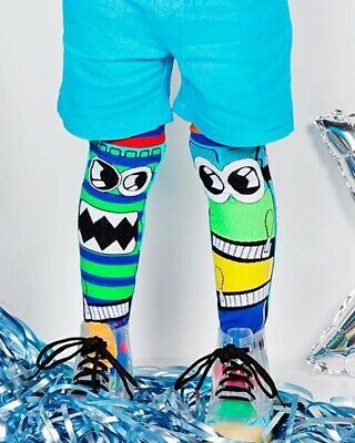 Madmia Monster Socks Kids Toddler Adult Colourful Amazing Crazy Socks Fun Cool