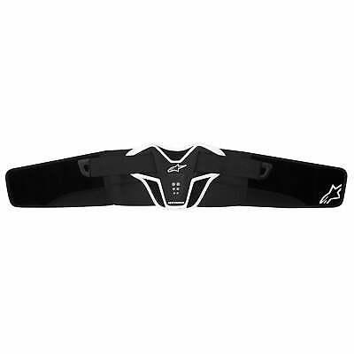Alpinestars Saturn Mens Body Armour Kidney Protection - Black White One Size