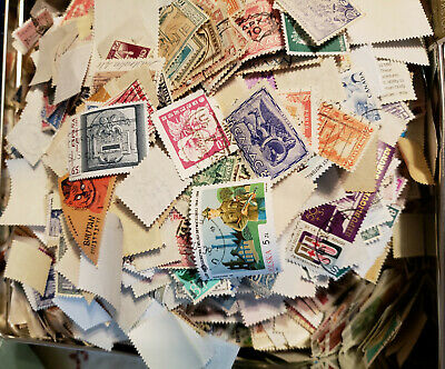 WORLDWIDE USED STAMPS (( OFF PAPER ))  COLLECTION (( 100 stamps ))