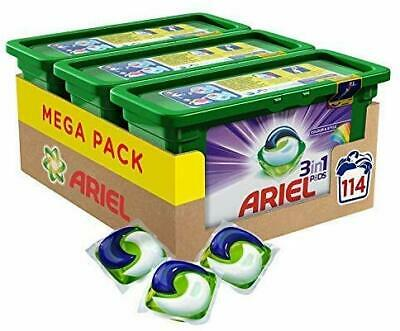Ariel 3-in-1 Pods Colour and Style Washing Liquid Capsules 114 Washes