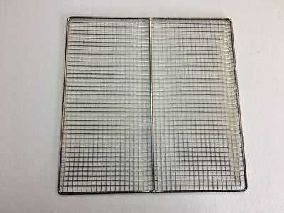 """Tube Screen Grate for Deep Fryer, 13"""" x 13"""" pitco, blue seal, & imperial"""