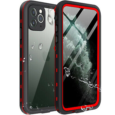 Apple iPhone 11 Pro Max Waterproof Case Cover w/ Built-in Screen Protector 11