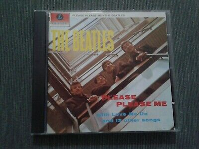 The Beatles - Please Please Me - Cd Parlophone Made In Italy 1963 - Come Nuovo
