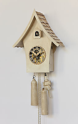 Hubert Herr.   lovely new modern cuckoo clock,  8 day mechanical weight driven.