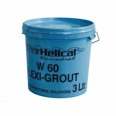 Thor Helical Flexi-Grout Crack Stitching Masonry Wall Repair Kit - 3L W60
