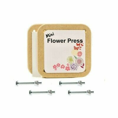 Peak Dale Mini Flower Press Made In The Uk From Mdf New And Boxed Free Postage