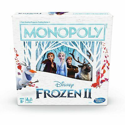 Monopoly Game: Disney Frozen 2 Edition Board Game - 2-6 Players
