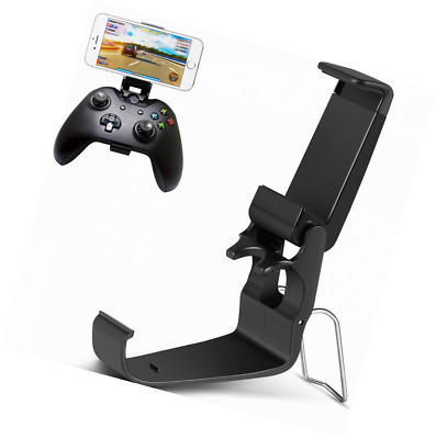 Jovitec Foldable Controller Clip Mobile Phone Plastic Holder Smartphone Game Clamp for Xbox One Controller 4 Pack