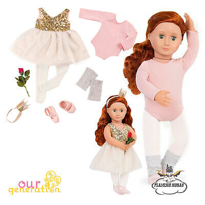 OUR GENERATION DOLL OPENING NIGHT Deluxe Ballerina Dancing Outfit American Girl