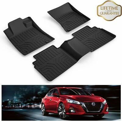 Car Floor Mats Front & Rear Carpet All Weather Waterproof for 2019 Nissan Altima