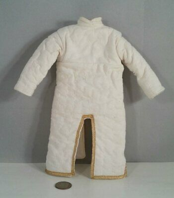 Middle Age Costume Medieval Gambeson Reenactment Roman White Color Fancy Jacket