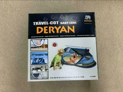 DERYAN Baby luxe travel cot, Kinderreisebett NEW IN THE BOX