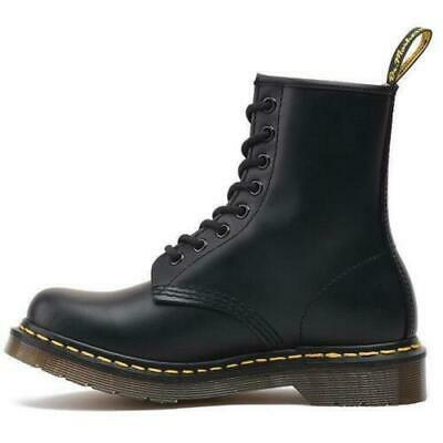 Dr. Martens Unisex 1460 8 Lace Up Leather Boots Shoes Doc Martins Womens Mens