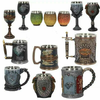 Game of Thrones House Stark Coffee Mugs Creative Beer Drinkings Mark Cup Goblet