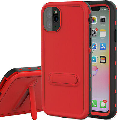 For Apple iphone 11 pro max Case Waterproof Shock Screen Protector kickstand 11