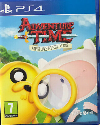 Adventure Time: Finn & Jake Investigations (PS4) PEGI 7+ Adventure: Role