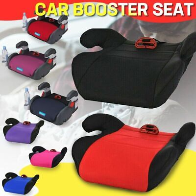 Car Booster Seat Chair Cushion Pad Sturdy For Toddler Kids Children 3-12 Years