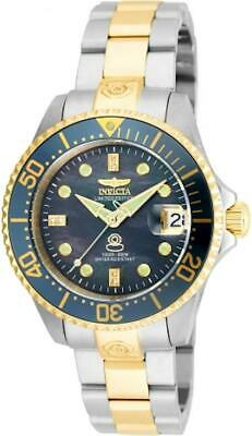 Invicta 22031 Grand Diver Automatic Date Diamonds Stainless Steel Womens Watch