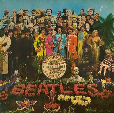 The Beatles ‎- Sgt. Pepper's Lonely Hearts Club Band (LP) (Yellow Vinyl) (VG/G)