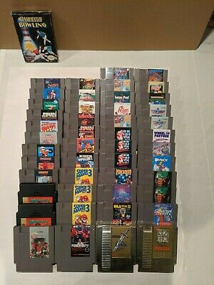 Nintendo NES Games - Lots of Rare Titles NOW DISCOUNTED!! All Cleaned and Tested