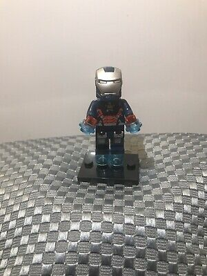Marvel Avengers Superhero Iron Patriot End Game Minifigure ARRIVES IN 2-4 DAYS
