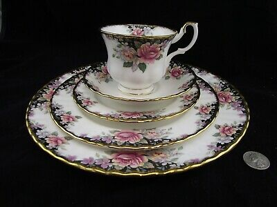 Royal Albert Concerto  5 Piece Place Setting England