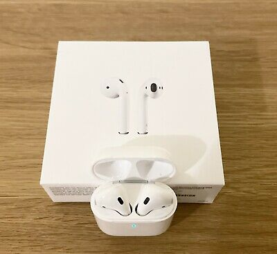 Apple MRXJ2ZM/A AirPods 2nd Generation with Wireless Charging Boxed & Receipt