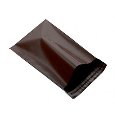 """2000 Brown 6.5"""" x 9"""" Mailing Postage Postal Mail Bags"""