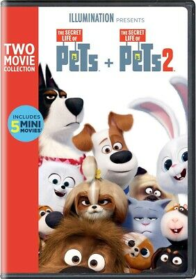The Secret Life of Pets: 2-Movie Collection DVD 2019 , Brand New, Fast Shipping