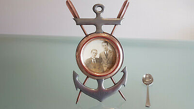 Antique Nautical Pictureframe. Collector Or Perfect Sailors Gift. Love It !