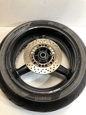 Yamaha R1 5JJ  Rear Wheel & Good Rossi Tyre VGC