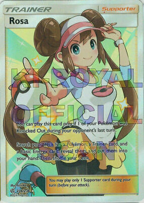 Pokemon - Rosa - 236/236 - Full Art - Cosmic Eclipse -  SM12 - NM/M