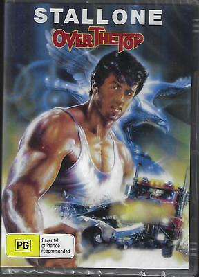 Over The Top Dvd ( Sylvester Stallone ) Region All  New And Sealed