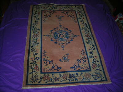 Super Clearance Sale! Shabby Chic Antique Chinese Art Deco Rug 3.1X4.9